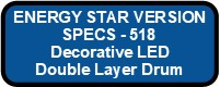 518 LED DECO DRUM III ENERGY STAR VERSION Button