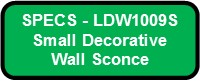 PHLATT SMALL LED SPECS LDW1009S