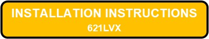 621 LED OVERBED III Installation Instructions Button