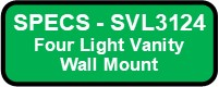 SVL3124 SHEILA Vanity Wall Sconce Button